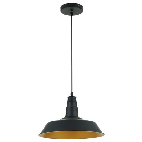 Подвесной светильник Odeon Light Pendant Kasl 3378/1, 1xE27x60W, черный, металл