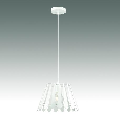 Подвесной светильник Odeon Light Kraz 3382/1, 1xE27x60W, белый, металл