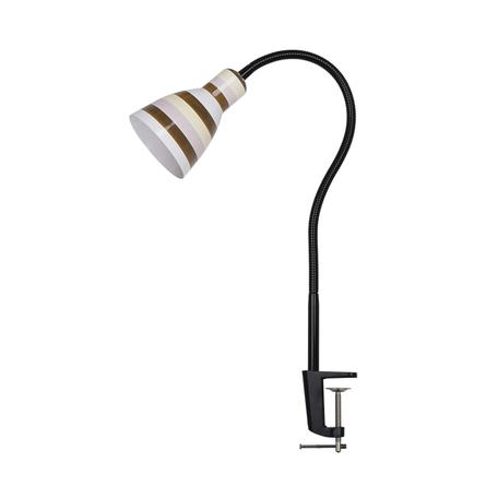 Настольная лампа Odeon Light Pika 3371/1T, 1xE27x60W, черный, коричневый, металл