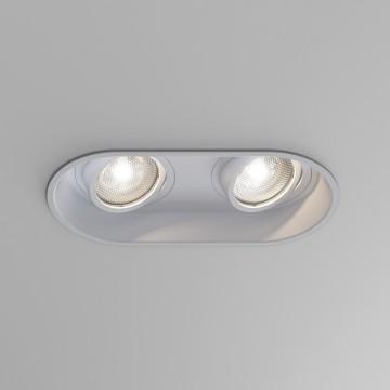 Встраиваемый светильник Astro Minima 1249028 (5827), 2xGU10x6W, белый, металл