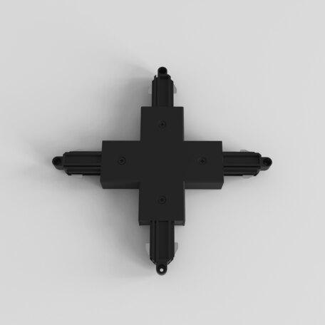 X-образный соединитель питания для треков Astro 6020020 (2232), черный, пластик
