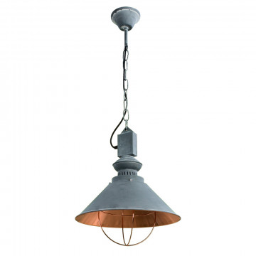 Arte Lamp Loft A5050SP-1BG, 1xE27x40W, серый, золото