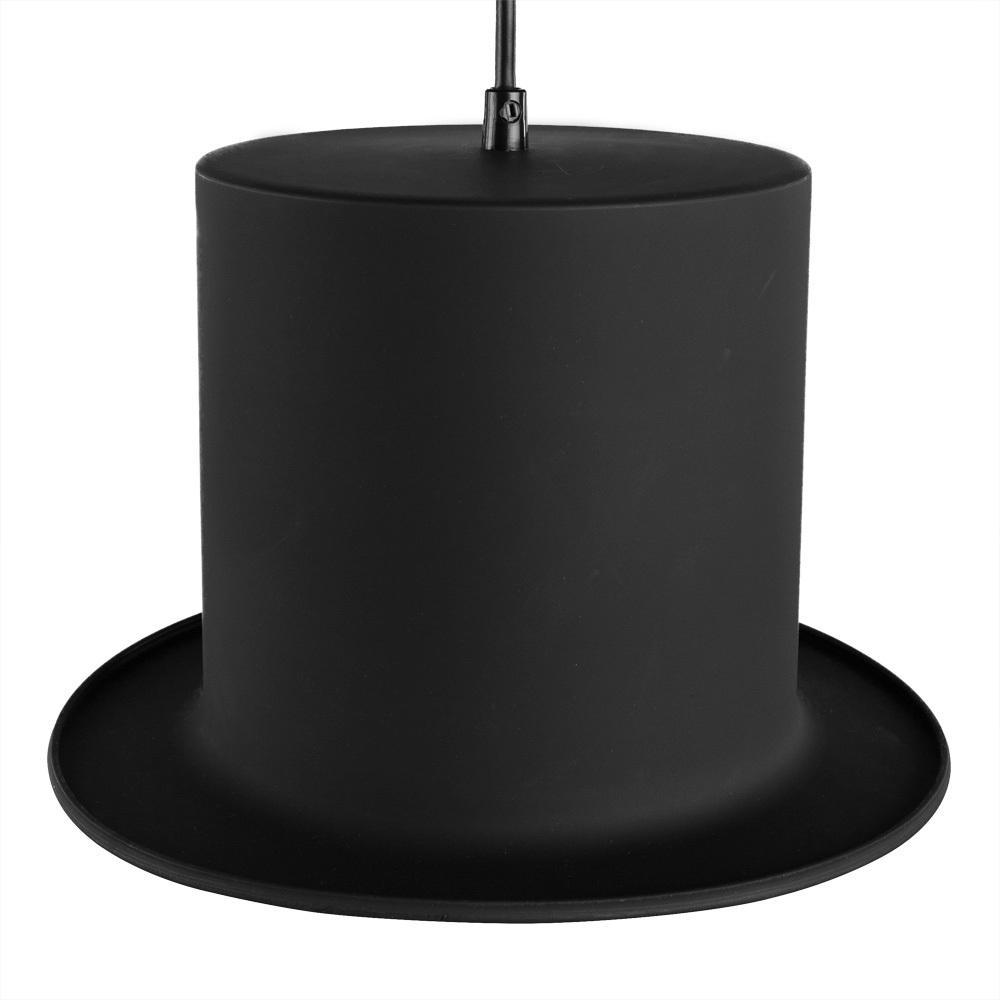 Подвесной светильник Arte Lamp Cappello A3236SP-1BK, 1xE27x40W, черный, золото, металл - фото 3