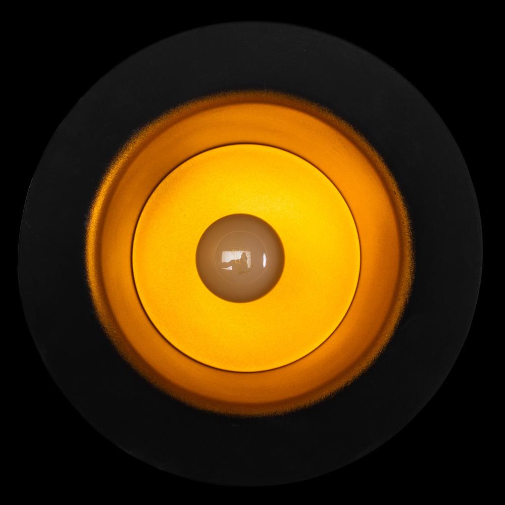 Подвесной светильник Arte Lamp Cappello A3236SP-1BK, 1xE27x40W, черный, золото, металл - фото 4