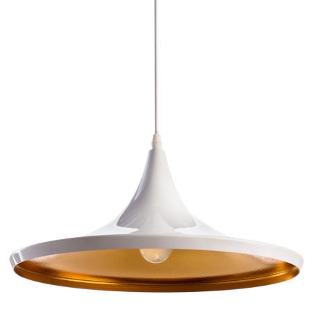 Подвесной светильник Arte Lamp Cappello A3406SP-1WH, 1xE27x40W, белый, металл