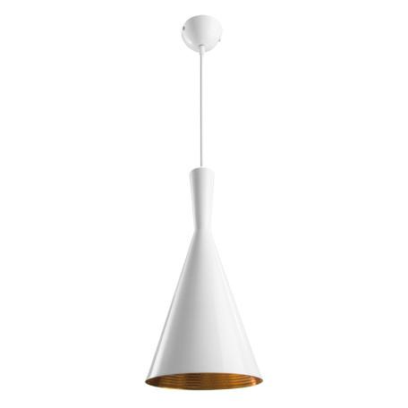 Подвесной светильник Arte Lamp Cappello A3408SP-1WH, 1xE27x40W, белый, металл