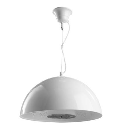 Подвесной светильник Arte Lamp Rome A4175SP-1WH, 1xE27x40W, белый, металл, пластик, стекло