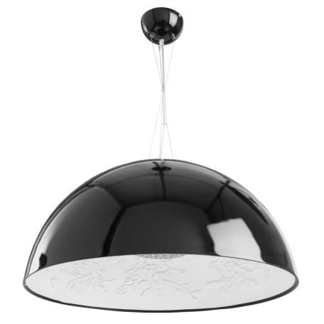 Подвесной светильник Arte Lamp Rome A4176SP-1BK, 1xE27x60W, черный, металл, пластик, стекло