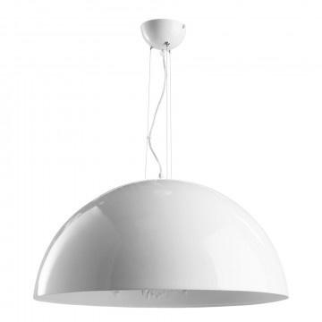 Подвесной светильник Arte Lamp Rome A4176SP-1WH, 1xE27x60W, белый, металл, пластик, стекло