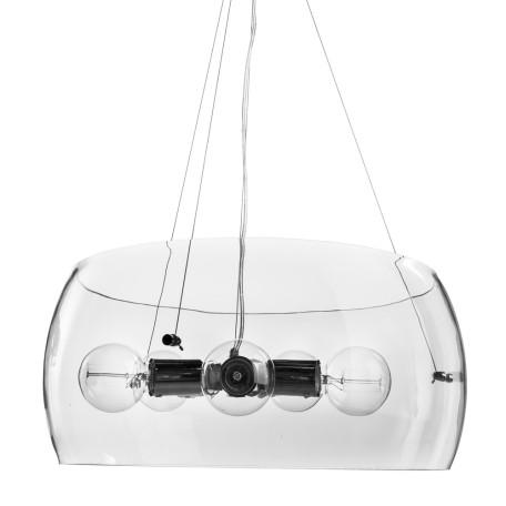 Подвесной светильник Arte Lamp Frescura A8057SP-5CC, 5xE27x40W, хром, прозрачный, металл, стекло
