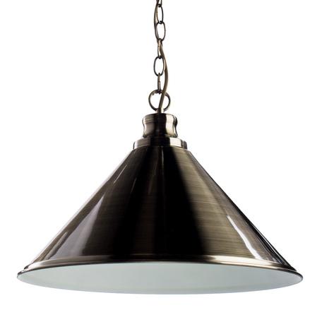 Подвесной светильник Arte Lamp Bevel A9330SP-1AB, 1xE27x75W, бронза, металл