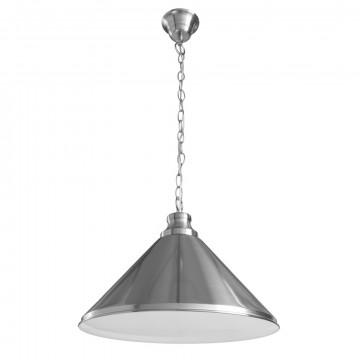 Подвесной светильник Arte Lamp Bevel A9330SP-1SS, 1xE27x75W, серебро, металл