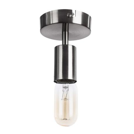 Потолочный светильник Arte Lamp Fuori A9184PL-1SS, 1xE27x60W, серебро, металл - миниатюра 1