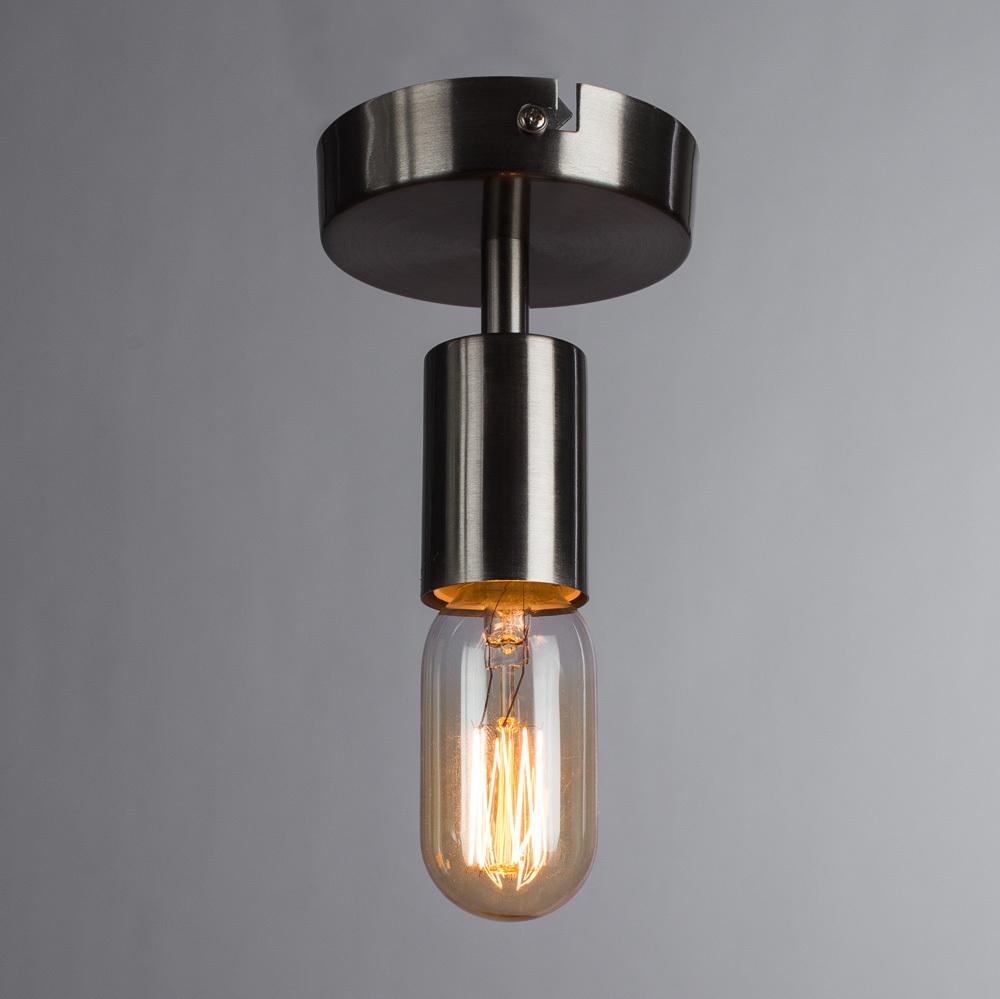 Потолочный светильник Arte Lamp Fuori A9184PL-1SS, 1xE27x60W, серебро, металл - фото 2