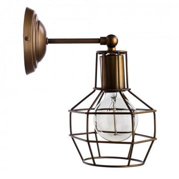 Потолочный светильник с регулировкой направления света Arte Lamp Interno A9182AP-1BZ, 1xE27x60W, бронза, металл