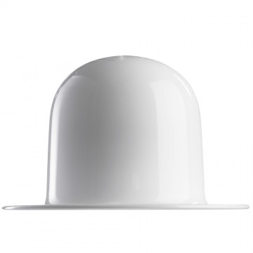 Подвесной светильник Arte Lamp Cappello A3234SP-1WH, 1xE27x40W, белый, золото, металл - миниатюра 3