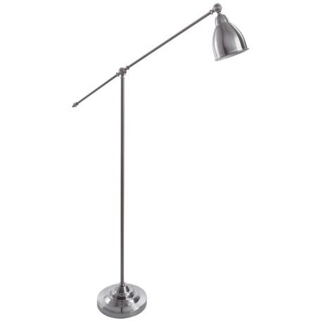 Торшер Arte Lamp Braccio A2054PN-1SS, 1xE27x60W, серебро, металл