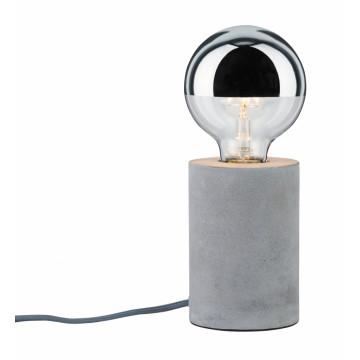 Настольная лампа Paulmann Mik 79621, 1xE27x20W, бетон