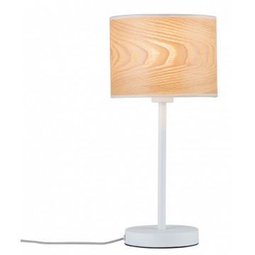 Настольная лампа Paulmann Neta 79638, 1xE27x20W, металл, дерево
