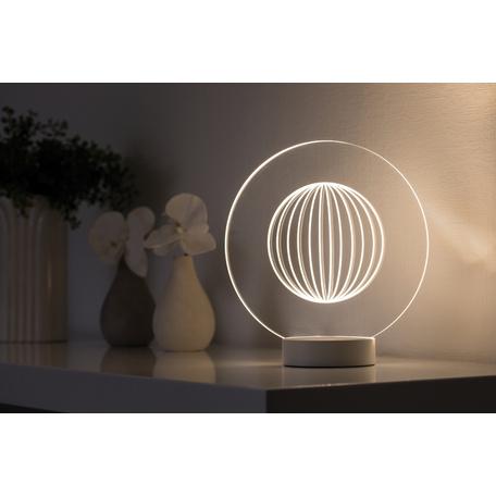 Плафон Paulmann 3D Yarn Glass 79531, прозрачный, пластик