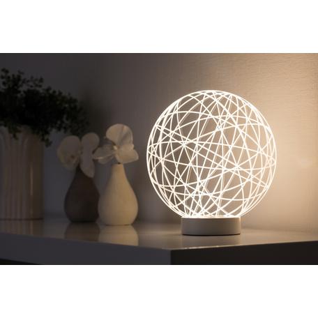 Плафон Paulmann 3D Wool Glass 79533, прозрачный, пластик - миниатюра 1