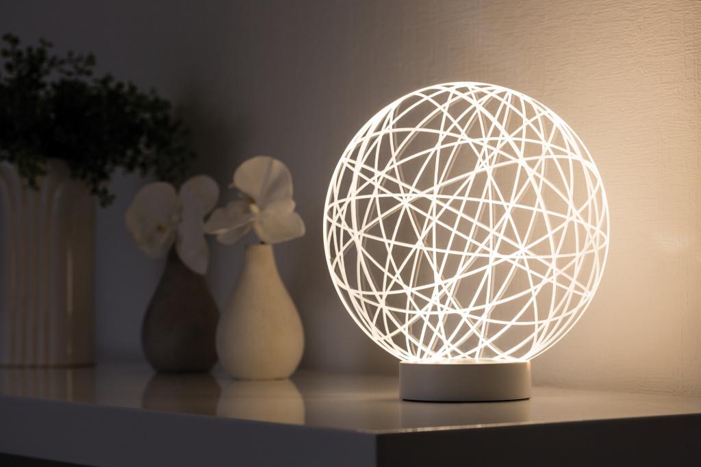 Плафон Paulmann 3D Wool Glass 79533, прозрачный, пластик - фото 1