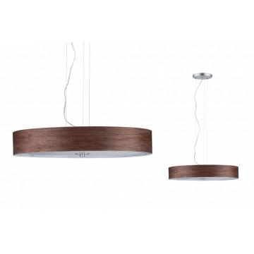 Подвесной светильник Paulmann Alva 79686, 3xE27x20W, металл, дерево