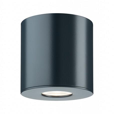 Потолочный светодиодный светильник Paulmann House surface mounted Downlight 79671, IP44, LED 4,4W, серый, металл