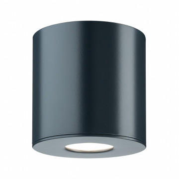 Потолочный светодиодный светильник Paulmann House surface mounted Downlight 79673, IP44, LED 5,3W, серый, металл