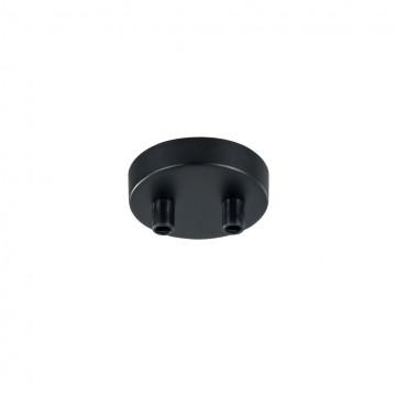 База для подвесного монтажа светильника Maytoni Universal base SPR-BASE-R-02-B, черный, металл