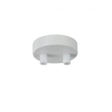 База для подвесного монтажа светильника Maytoni Universal base SPR-BASE-R-02-W, белый, металл