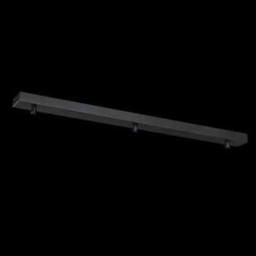 База для подвесного монтажа светильника Maytoni Universal Base SPR-BASE-03-B, черный, металл