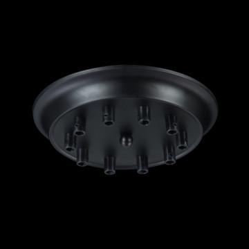 База для подвесного монтажа светильника Maytoni Dakota T455-10-BASE, черный, металл - миниатюра 2