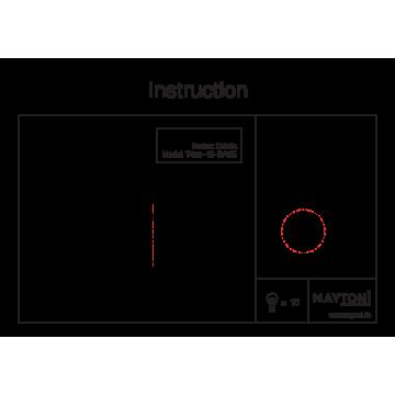 Схема с размерами Maytoni T455-10-BASE