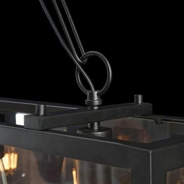 Подвесной светильник Maytoni Delphi T354-PL-04-B, 4xE27x60W, черный, прозрачный, металл, стекло - миниатюра 5