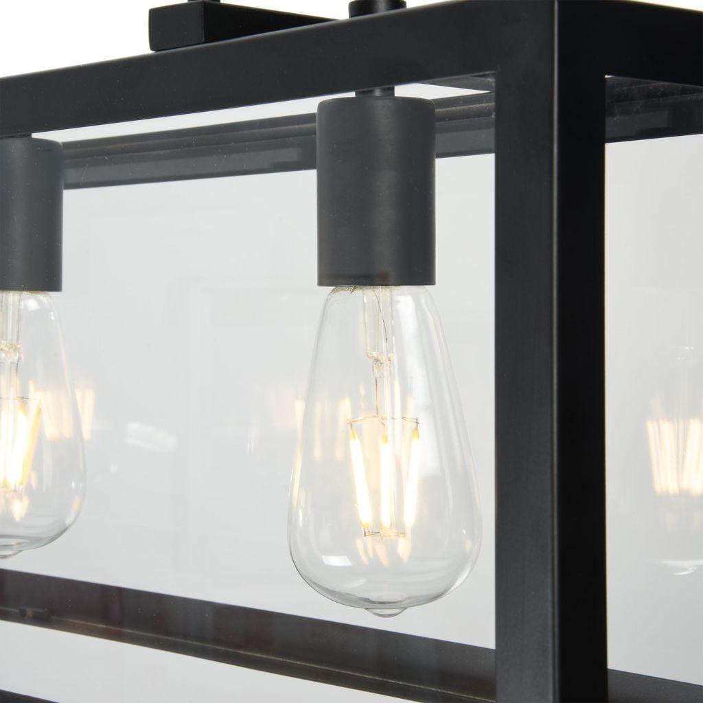 Подвесной светильник Maytoni Delphi T354-PL-04-B, 4xE27x60W, черный, прозрачный, металл, стекло - фото 7