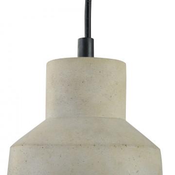 Подвесной светильник Maytoni Broni T437-PL-01-GR, 1xE27x60W, черный, серый, металл, бетон - миниатюра 10