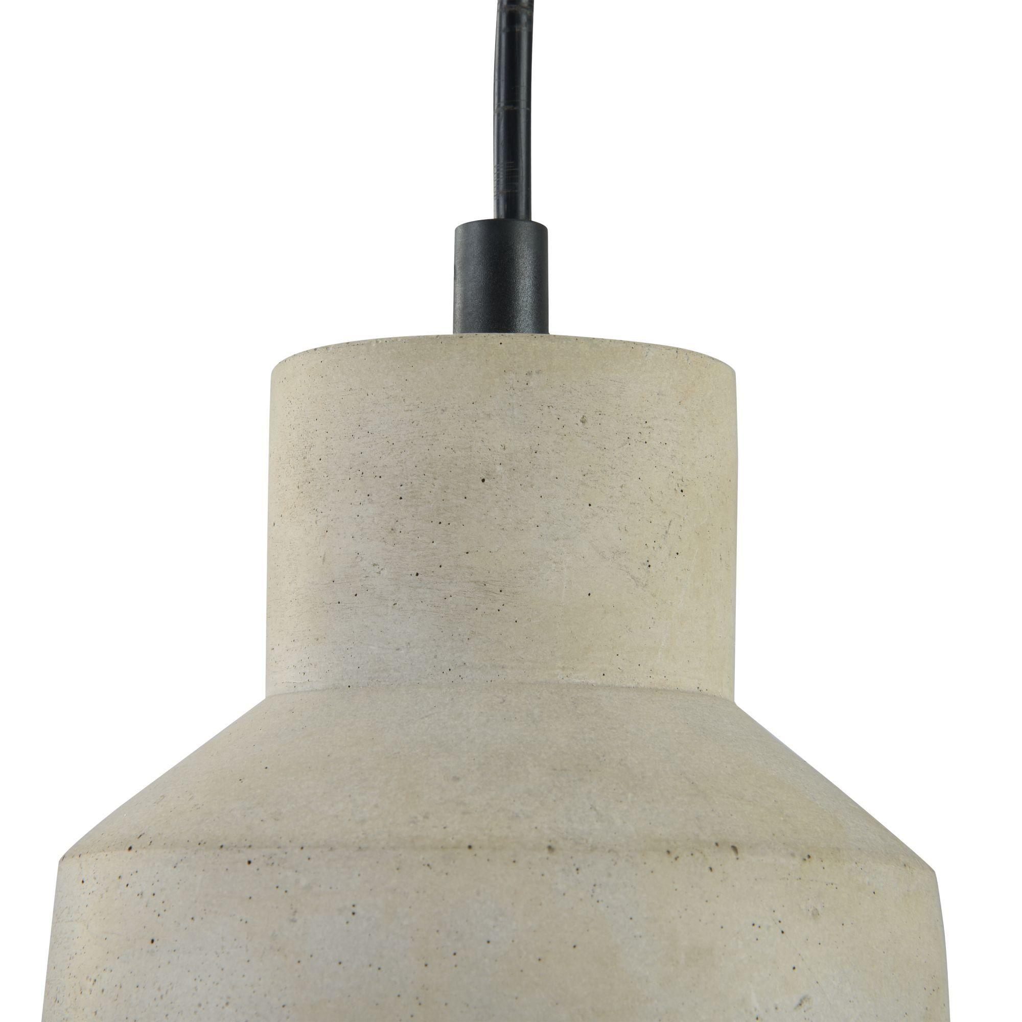 Подвесной светильник Maytoni Broni T437-PL-01-GR, 1xE27x60W, черный, серый, металл, бетон - фото 10