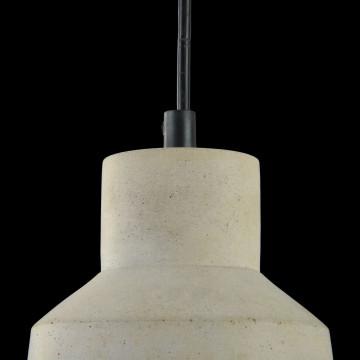 Подвесной светильник Maytoni Broni T437-PL-01-GR, 1xE27x60W, черный, серый, металл, бетон - миниатюра 5
