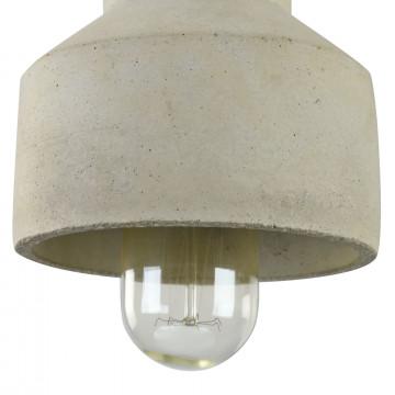Подвесной светильник Maytoni Broni T437-PL-01-GR, 1xE27x60W, черный, серый, металл, бетон - миниатюра 7