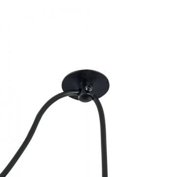 Подвесной светильник Maytoni Broni T437-PL-01-GR, 1xE27x60W, черный, серый, металл, бетон - миниатюра 9