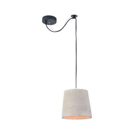 Подвесной светильник Maytoni Broni T440-PL-01-GR, 1xE27x40W, черный, серый, металл, бетон