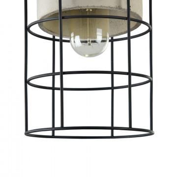 Подвесной светильник Maytoni Loft Gosford T441-PL-01-GR, 1xE27x60W, черный, серый, металл, металл с бетоном - миниатюра 7