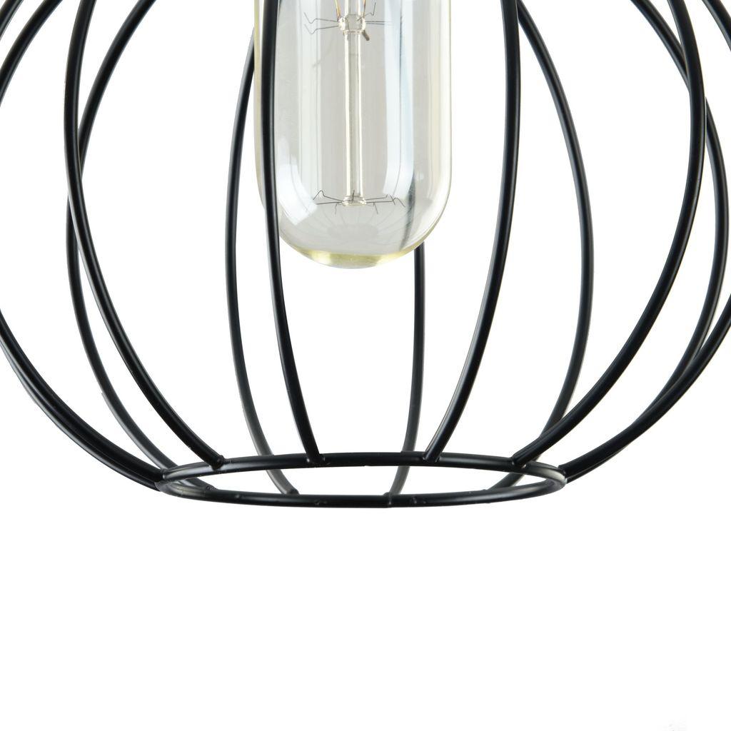 Подвесной светильник Maytoni Monza T443-PL-01-B, 1xE27x40W, черный, металл - фото 8