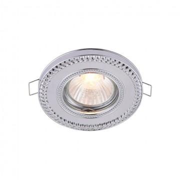 Встраиваемый светильник Maytoni Metal Classic DL302-2-01-CH, 1xGU10x50W, хром, металл