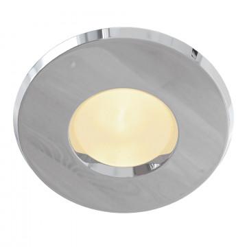 Встраиваемый светильник Maytoni Metal Modern DL010-3-01-CH, 1xGU10x50W, хром, металл, стекло