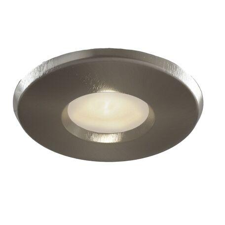 Встраиваемый светильник Maytoni Metal Modern DL010-3-01-N, 1xGU10x50W, никель, металл, стекло
