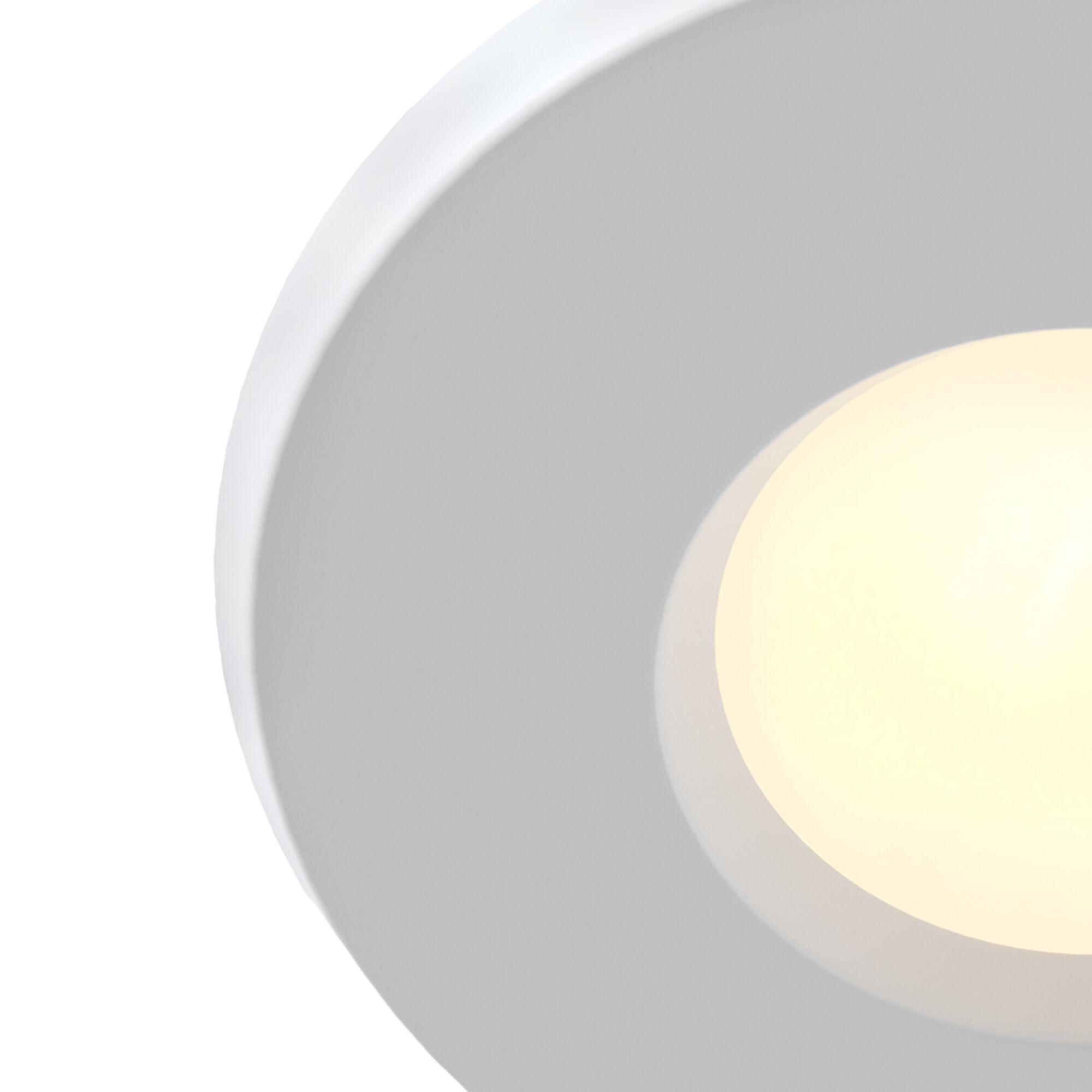 Встраиваемый светильник Maytoni Metal Modern DL010-3-01-W, 1xGU10x50W, белый, металл, стекло - фото 3