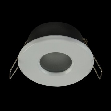 Встраиваемый светильник Maytoni Metal Modern DL010-3-01-W, 1xGU10x50W, белый, металл, стекло - миниатюра 4
