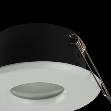 Встраиваемый светильник Maytoni Metal Modern DL010-3-01-W, 1xGU10x50W, белый, металл, стекло - миниатюра 5
